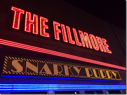 Snarky Puppy at The Fillmore on September 26, 2014